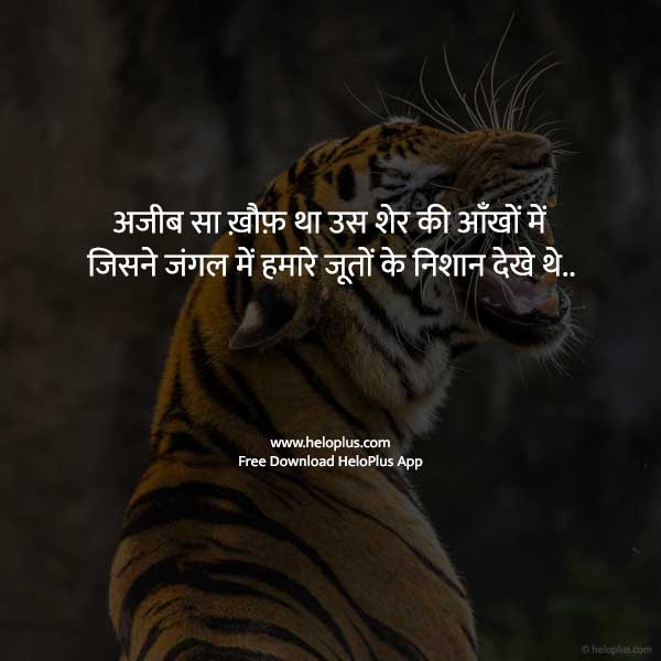 attitude quotes for girl in hindi