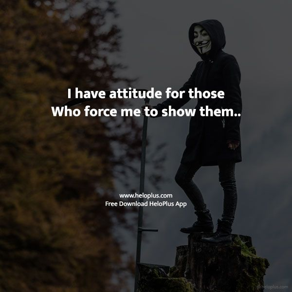 attitude quotes in english